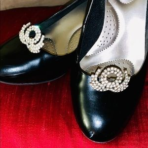 Accessories - Vintage Antique Clip-On Rhinestone Jewelry-Shoes